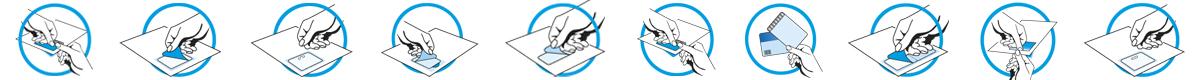 Piktogramme der integrierten Karten